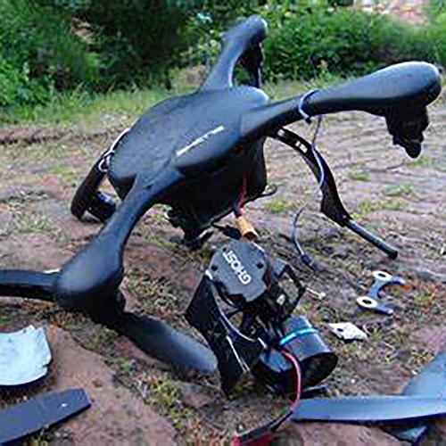 What happens when you hire amateur drone pilots