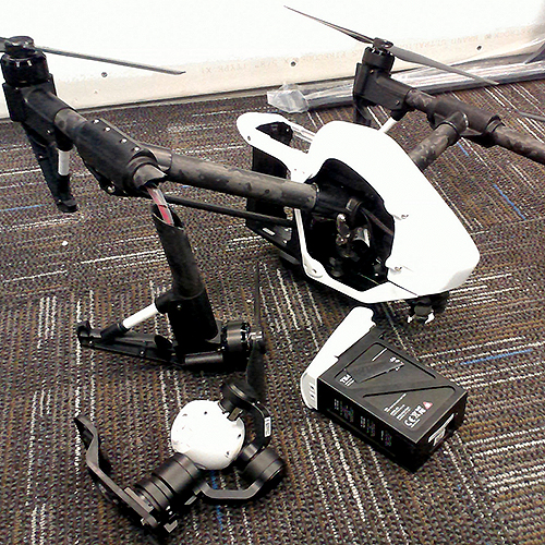 DJI Inspire 1, never to fly again