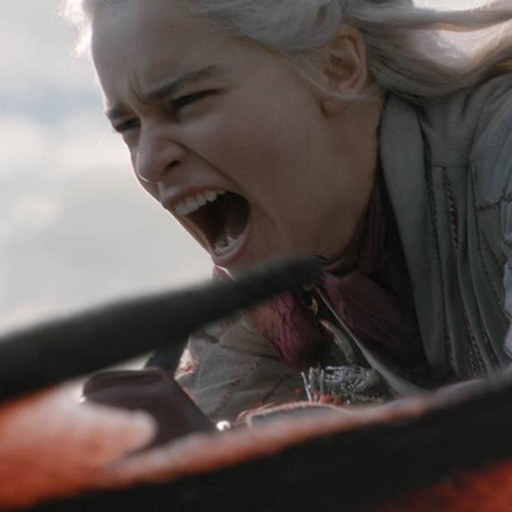 Daenerys and Drongon