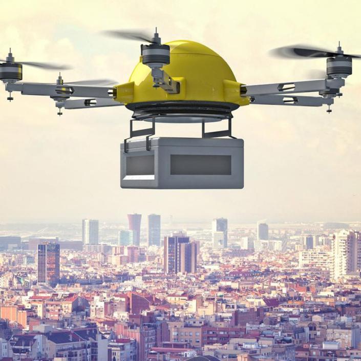 Googles potentia delivery drone