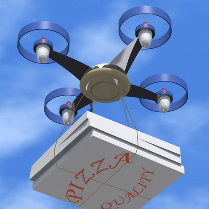 Drone for the munchies
